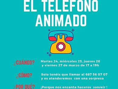 EL TELÉFONO ANIMADO  #HappyCuarenTIME