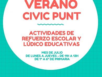 TALLER DE VERANO CIVIC PUNT