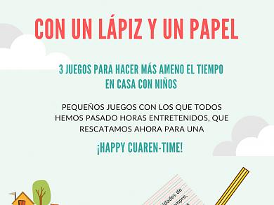 Con un lápiz y un papel         #HappyCuanren-TIME