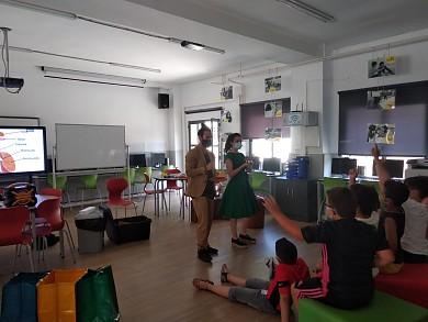 Mr Brown visita Teulada|Moraira